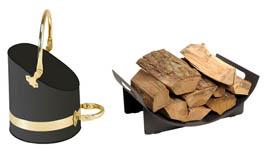 Scuttles, Log Holders & Baskets