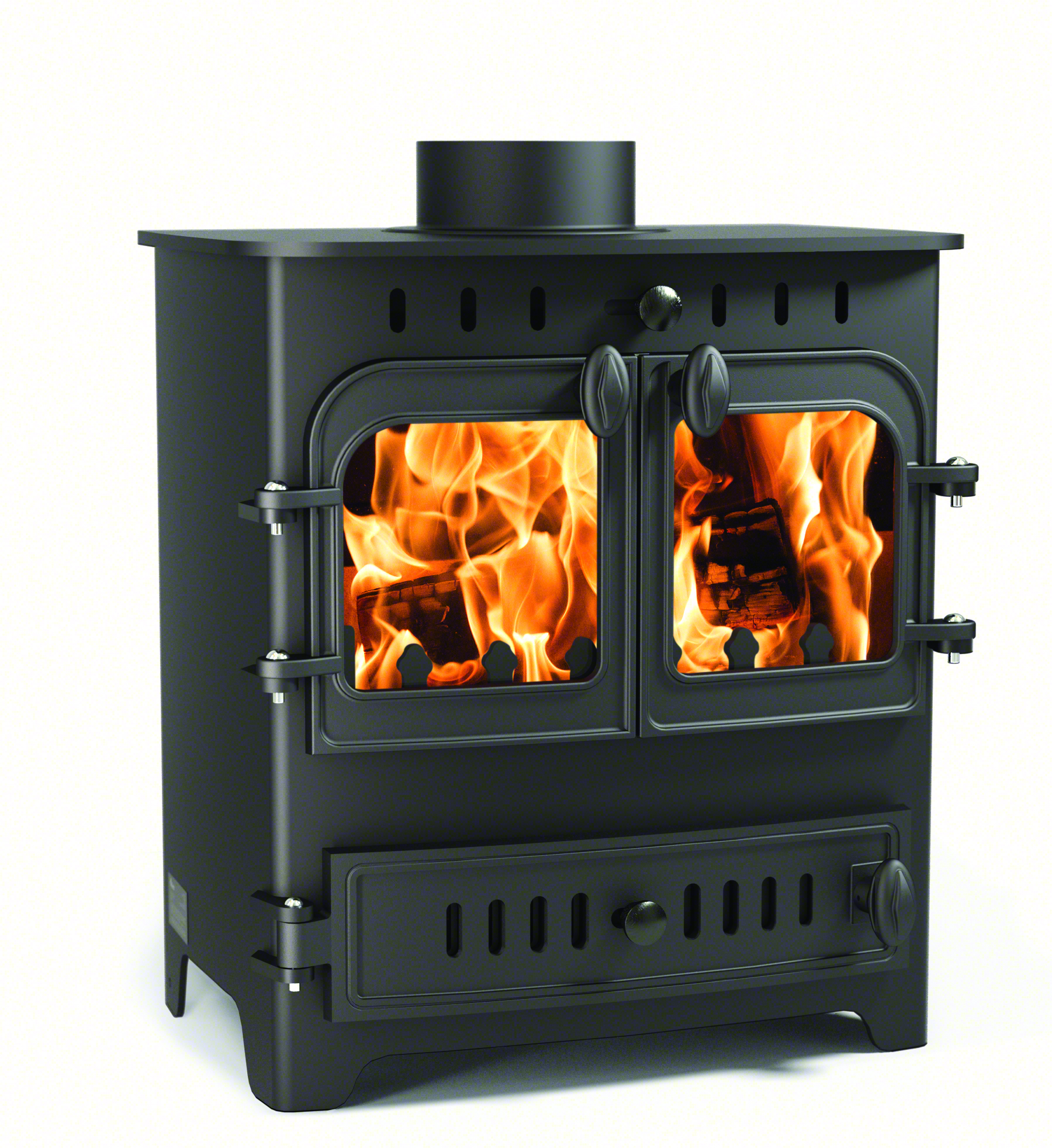 Villager Chelsea Duo 5kW Multi Fuel Stove | Severn Valley Stoves